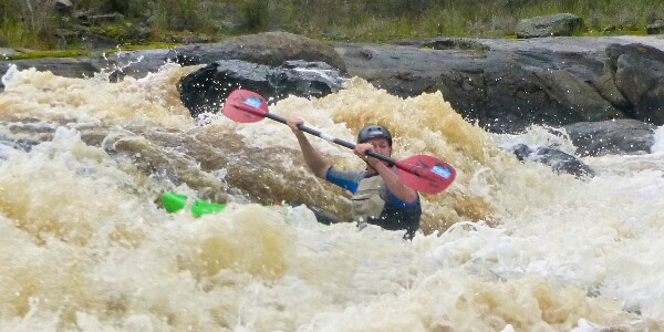 White Water Kayak Skills